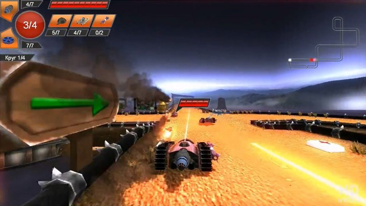 rocknroll racing 3d trailer oficial pc