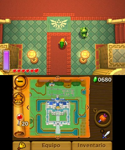 Zelda A Link Between Worlds