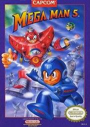 Carátula de Mega Man 5 - Wii